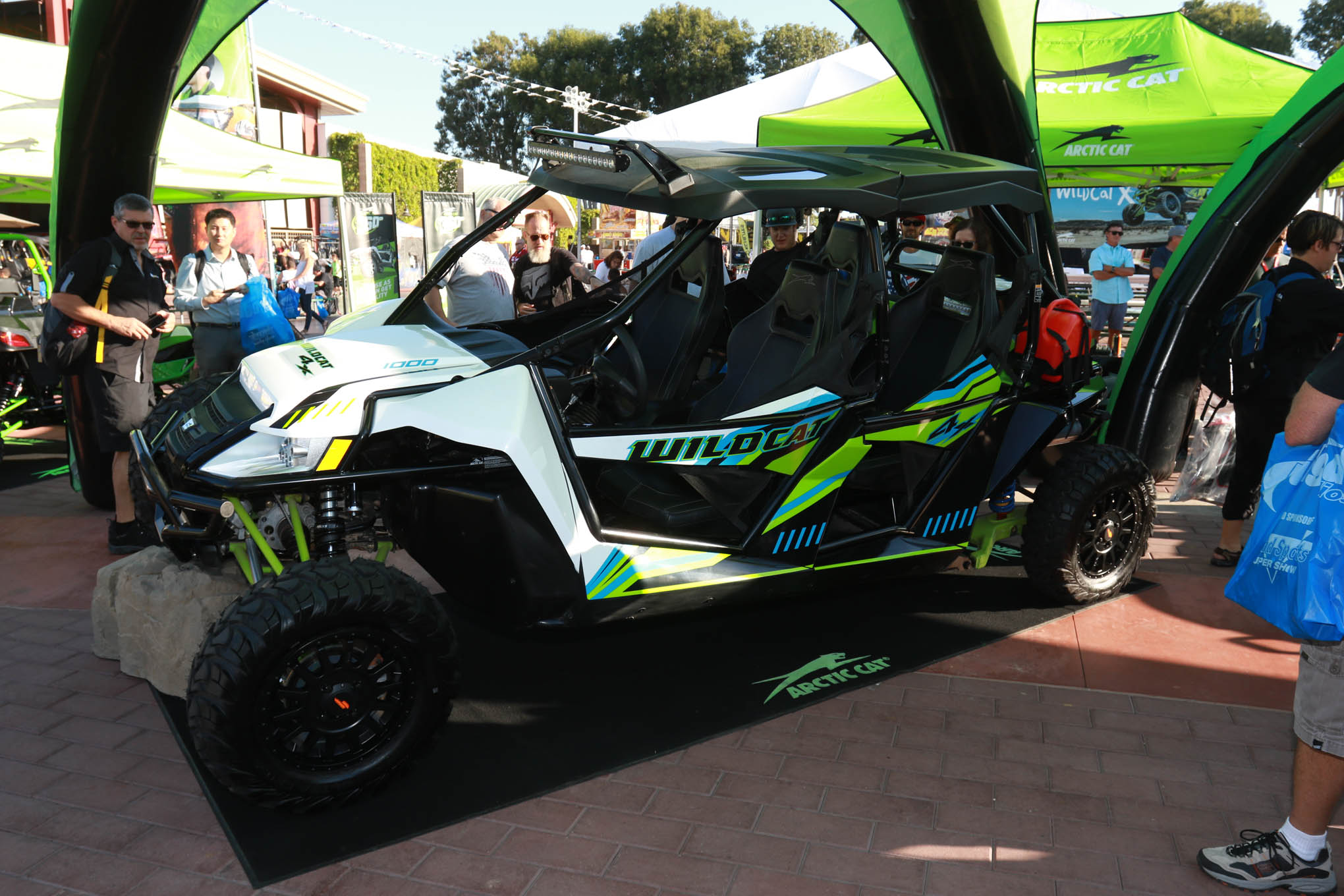 Arctic Cat revealed their new 4-seater 1000cc Wildcat 4X, and we can't wait to get one out in the dirt.