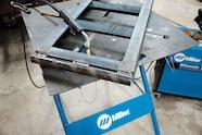 004 trailer ramps loading car hauler cappa fabrication project weld welding