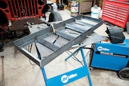003 trailer ramps loading car hauler cappa fabrication project weld welding
