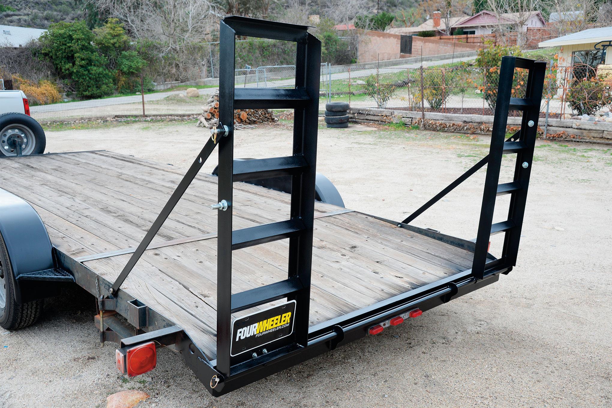 001 trailer ramps loading car hauler cappa fabrication project weld welding