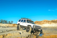 1994 jeep cherokee xj rough country long arm offroading