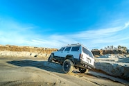 1994 jeep cherokee xj rough country long arm rear offroading