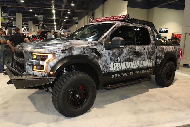 Video: ADD, Springfield Armory Team Up on Tactical 2017 Ford F-150 Raptor #TENSEMA16