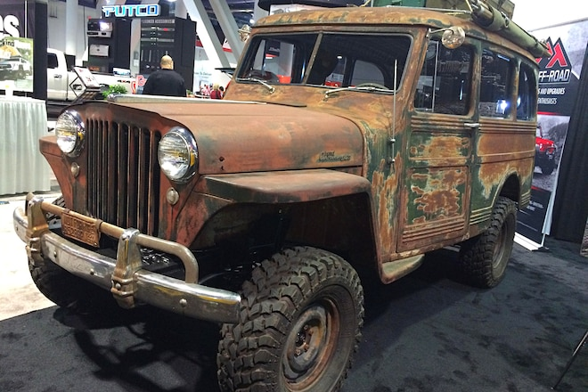 1949 Overlanding Expedition Rig at SEMA 2016 #TENSEMA16