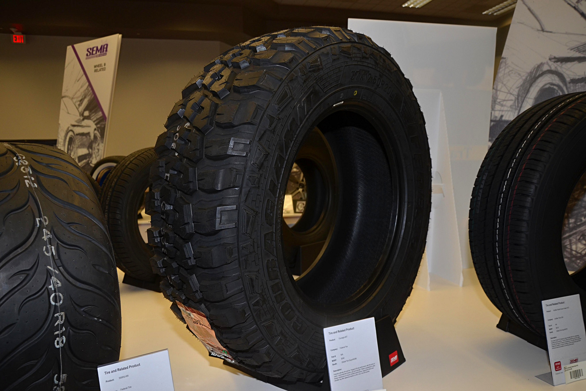 Sema 2016 New tires we saw at the show1