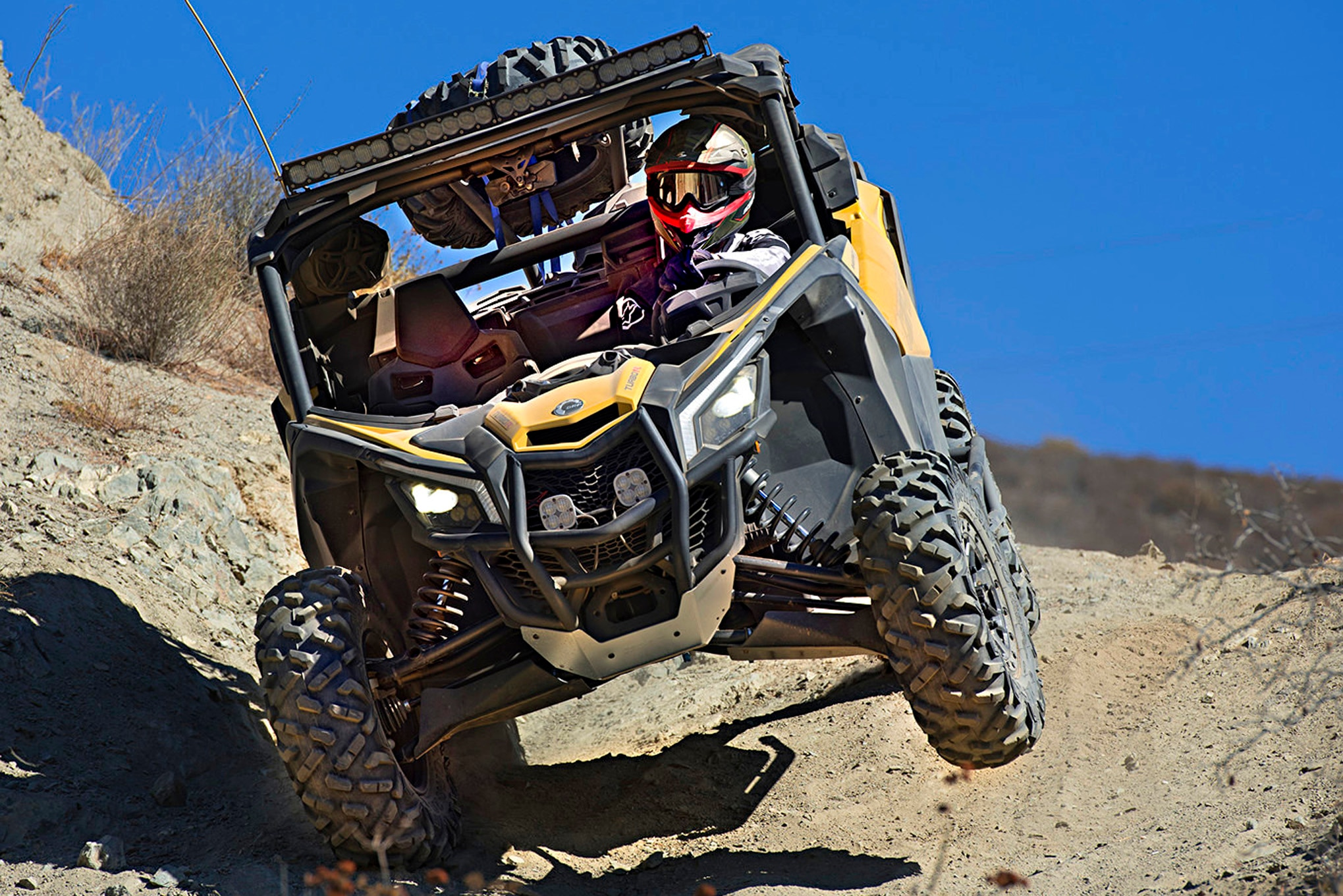 2017 Can-Am Maverick X3 Turbo R Test Ride