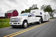 auto news four wheeler 2017 ford super duty f450 f250 towing fifth wheel