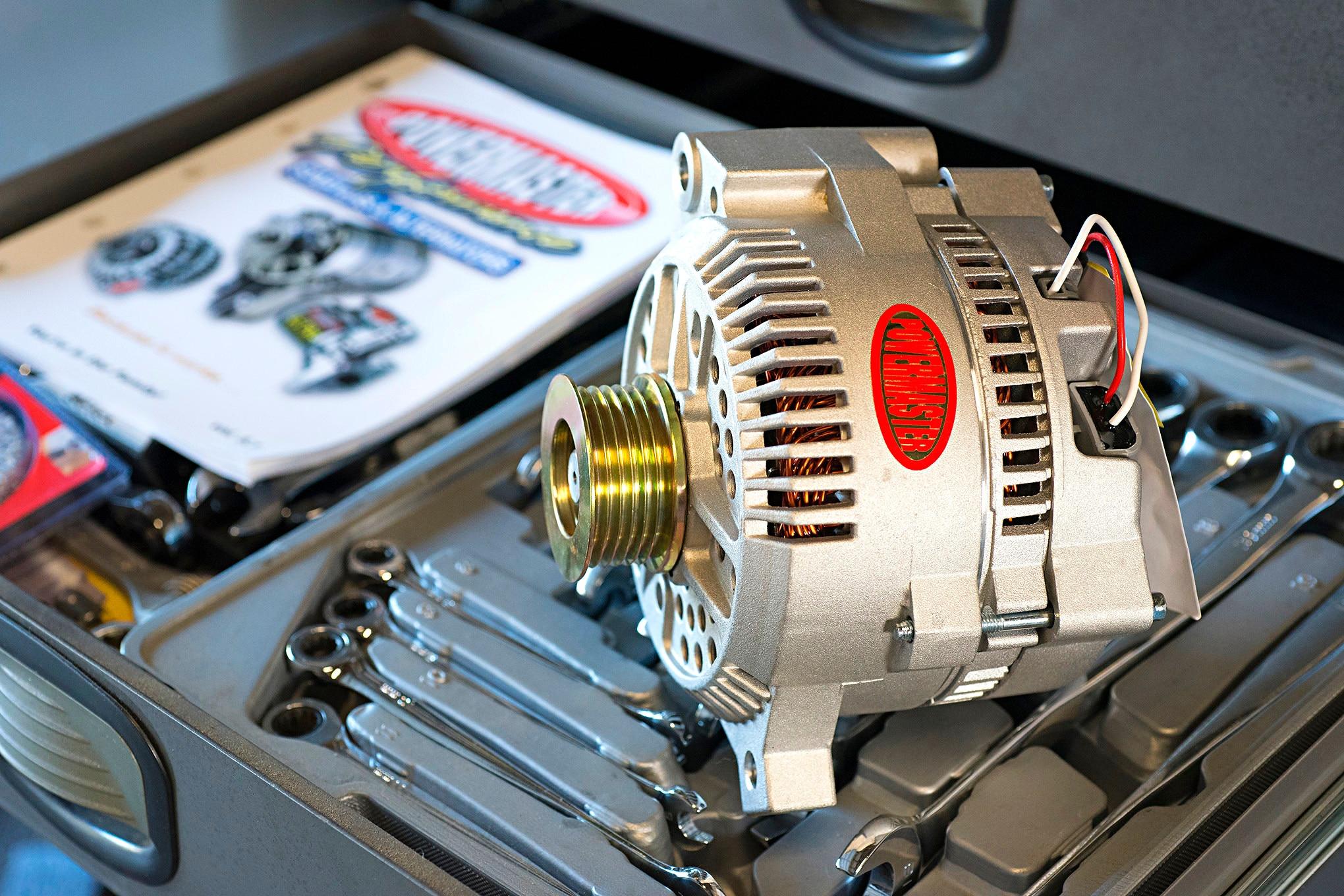 ford alternator upgrade for more battery charging power