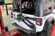011 jeep jk aev american expedition vehicles rear tire carrier water tank system.JPG