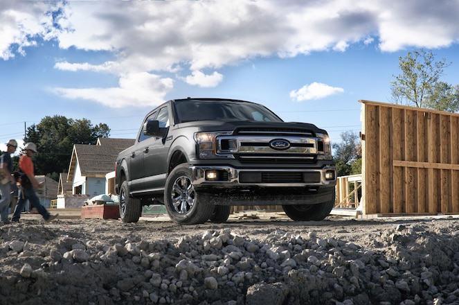 Ford Brings 2018 F-150 Power Stroke Diesel to Detroit Auto Show