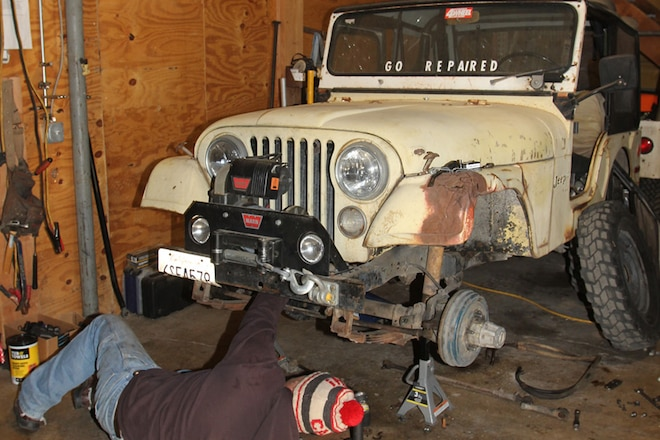 Fixing 1970s Jeep Steering With Hard-to-Find Parts