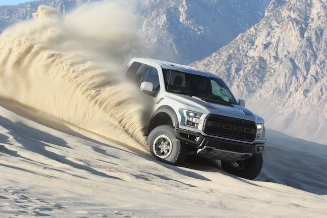 2017 Ford F-150 Raptor Wins Four Wheeler Pickup Truck of the Year