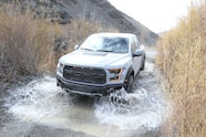 2017 ford f 150 raptor water crossing four wheeler truck of the year