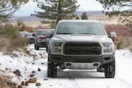 2017 ford f 150 raptor snow front four wheeler truck of the year
