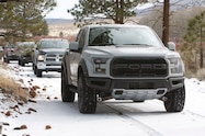 2017 ford f 150 raptor snow four wheeler truck of the year