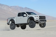 2017 ford f 150 raptor catching air four wheeler truck of the year