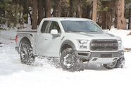 2017 ford f 150 raptor snow right four wheeler truck of the year