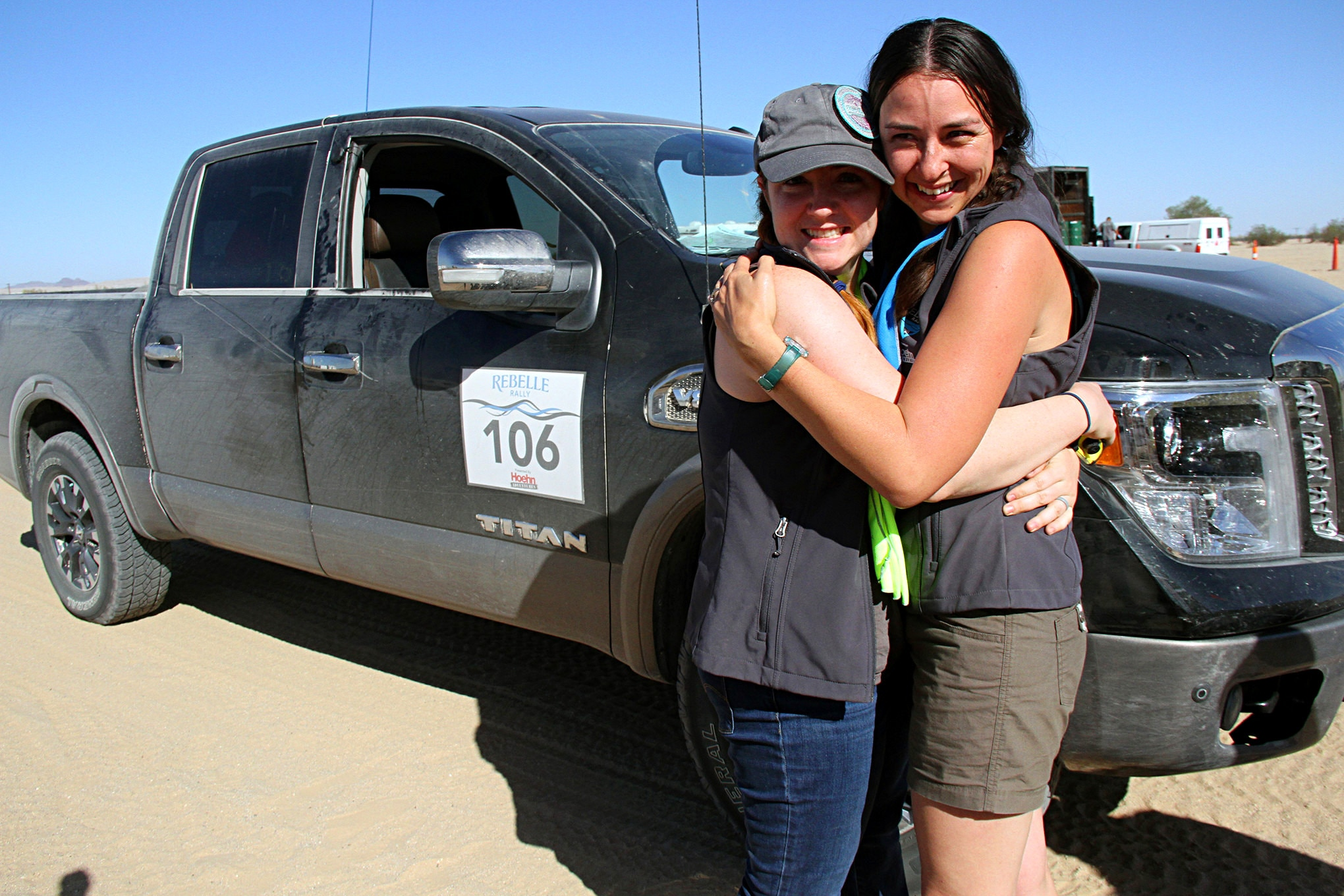 Maria Clay and Sedona Blinson went into the Rally as best friends. The Rally brought them even closer together while they spent long hours in the truck.