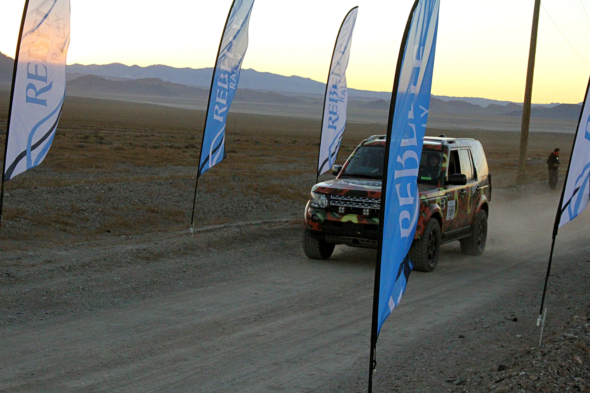 A wide variety of stock vehicles were entered in the Rally.