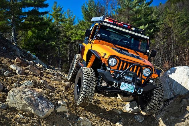 2002 Jeep TJ Wrangler Built For Overland Rally