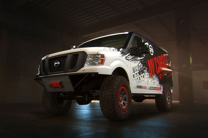 Nissan to Show Cummins-Powered NV Cargo X 4x4 Concept in Chicago