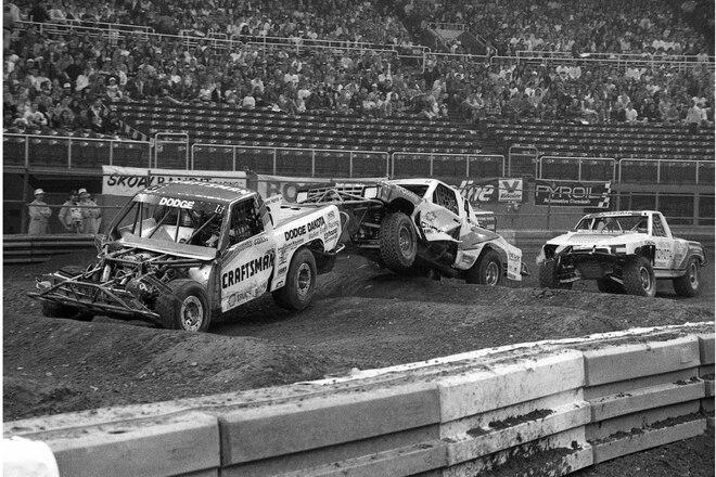 When Dodge Won The MTEG Grand National Sport Truck Championship