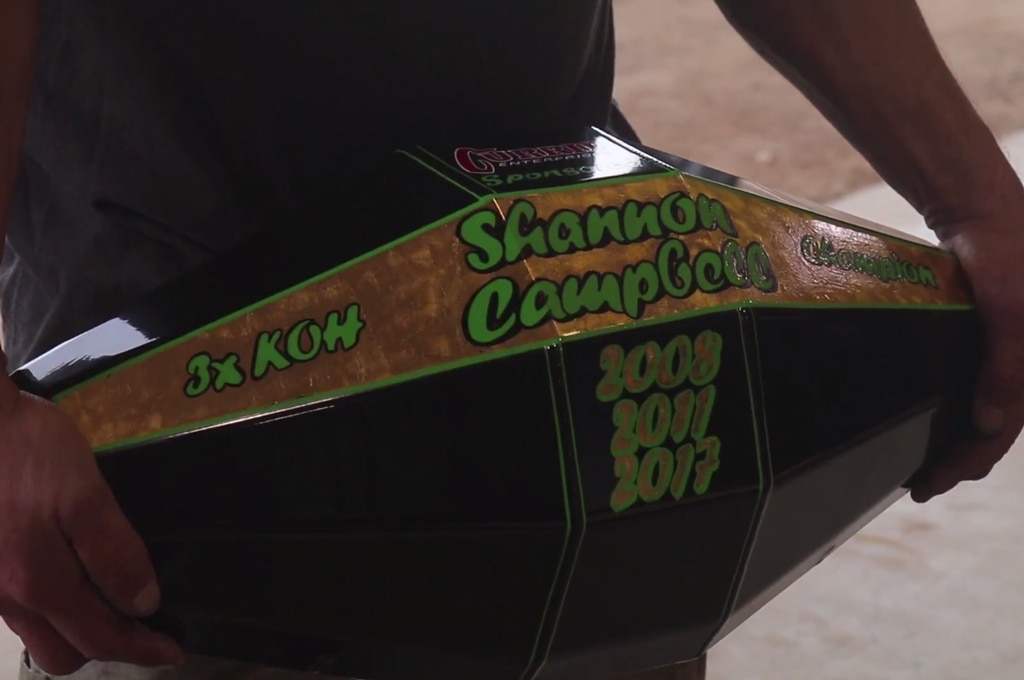 currie shannon campbell koh diff cover trophy closeup