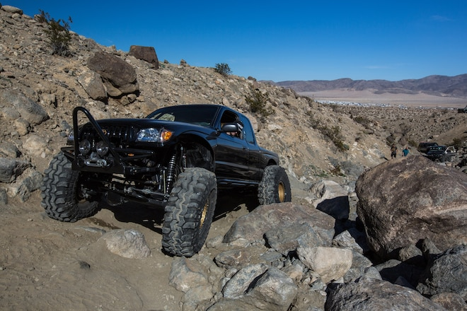 Toyota Tacoma Lowrider on 43-Inch-Tall Super Swampers