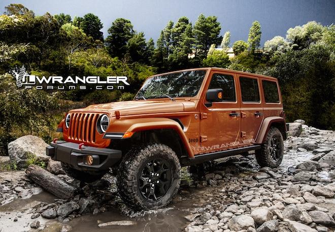 Wrangler Forum Releases New, Sharper JL Renderings