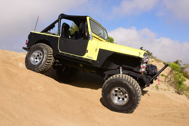 1979 Jeep CJ-7 Done Old-School