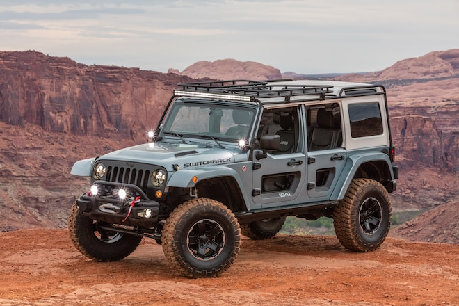 Rockin' Jeep Switchback Concept At The 2017 Easter Jeep Safari: Photos, Exclusive Video, Opinions