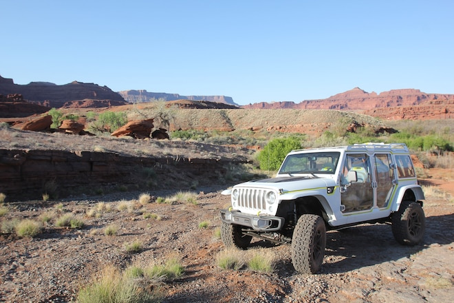 The Jeep Safari Concept At Jeep Safari: What Do You Like On This Lighter, Wide Open JK?