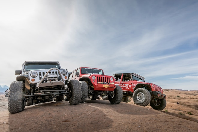 Make Mine A Stubby: 11 Jeep JK Bumpers From The 2017 Easter Jeep Safari That Show Why Less Is More