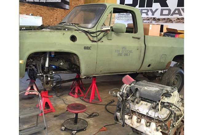 Swapping an 8.1L Big-Block in a 1973-1991 Square-Body Chevy Pickup