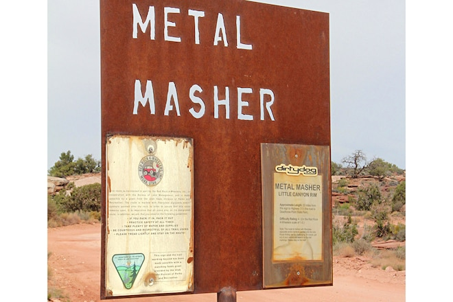 Moab Experience Metal Masher Trail Report