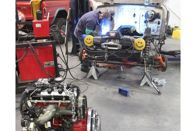 Swapping a Cummins in a TJ Wrangler