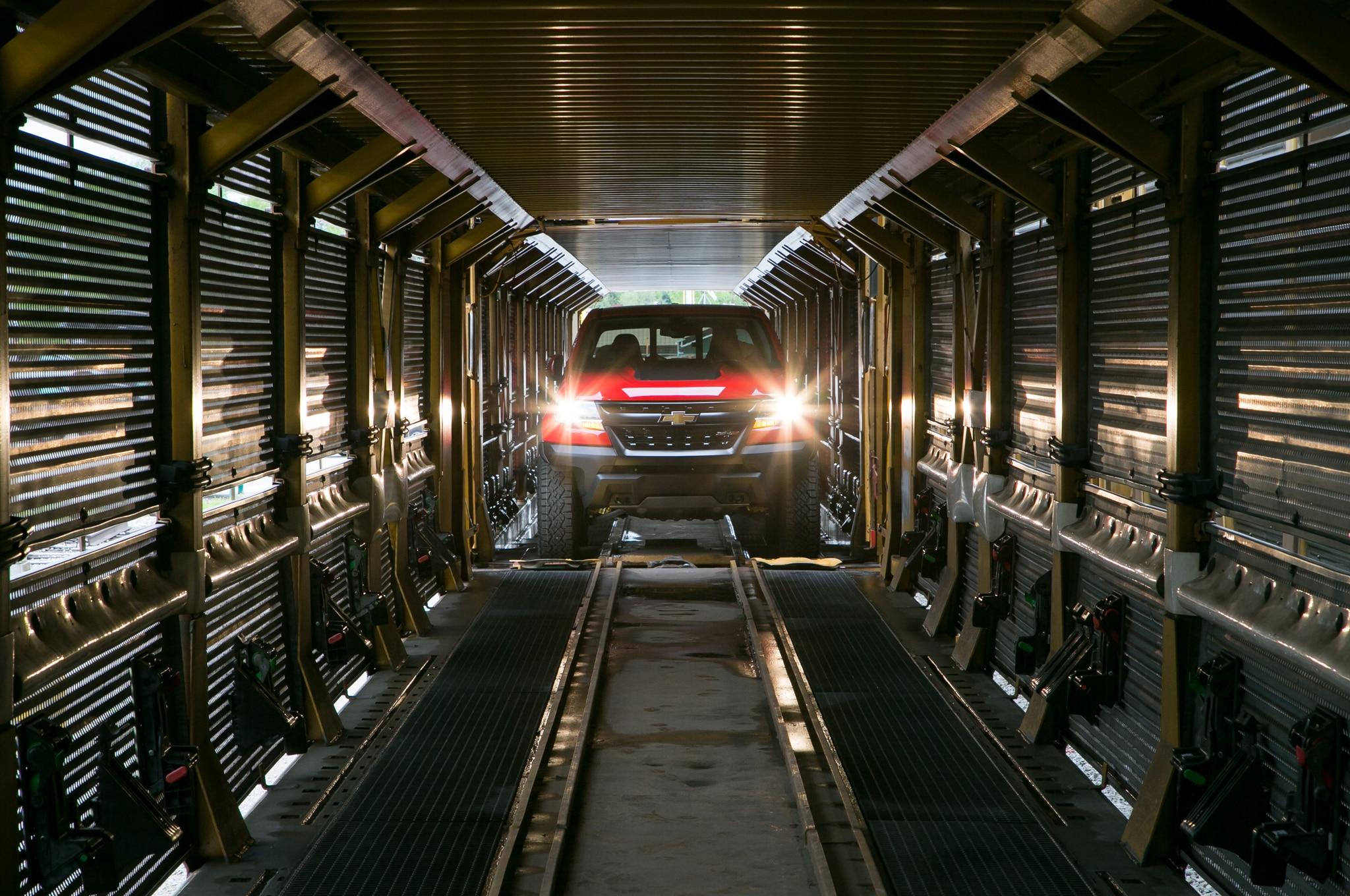 2017 chevrolet colorado zr2 vehicle carrier