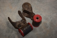 010 dino suspension lift and tires rear shackles with new bushings and sleeves.JPG