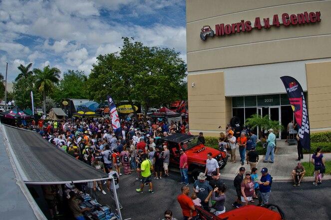 Morris 4x4 Center Hosts Annual Jeep Event in Pompano Beach, Florida