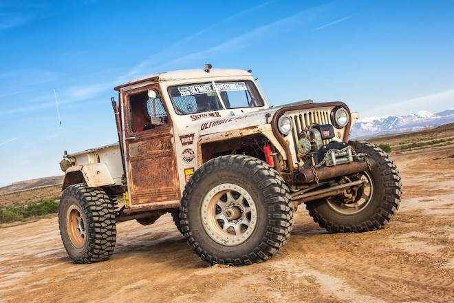 Verne's Moab Experience: The Adventures Of A Man And His 1949 Willys Pickup At The 2017 Easter Jeep Safari