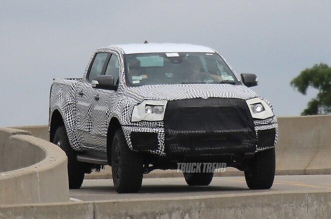SPIED: 2020 Ford Ranger Raptor?