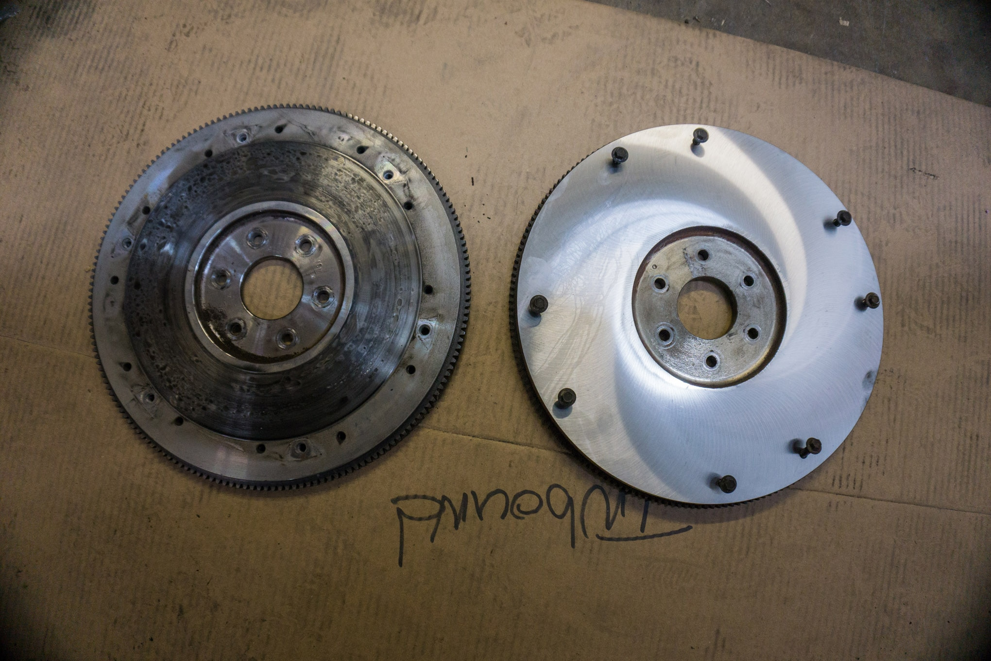 10 Flywheel Comparison Photo 227952941