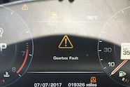 four wheeler of the year range rover sport svr gearbox fault 04