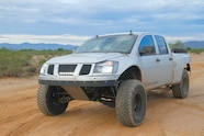 002 mighty nissan titan front view