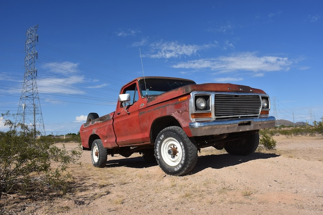 Buying a Classic Ford to Build for Off-Roading