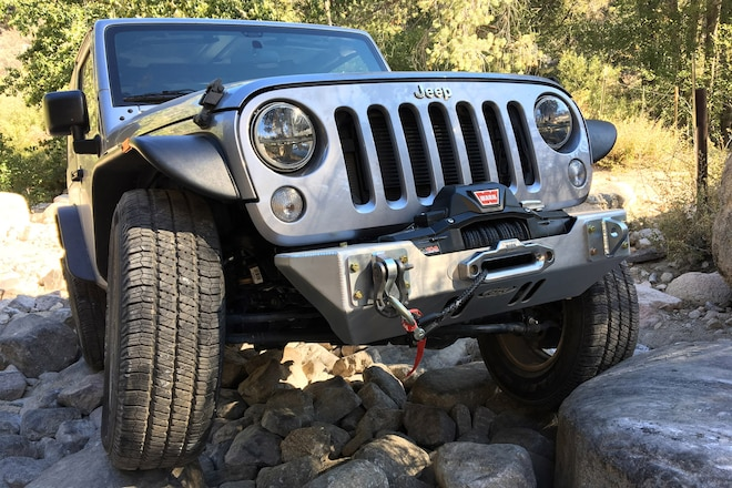 Smash and Grab: A Low-Profile Bumper and Winch Setup to Help Our New JK Take a Beating and Get Dragged Out Alive