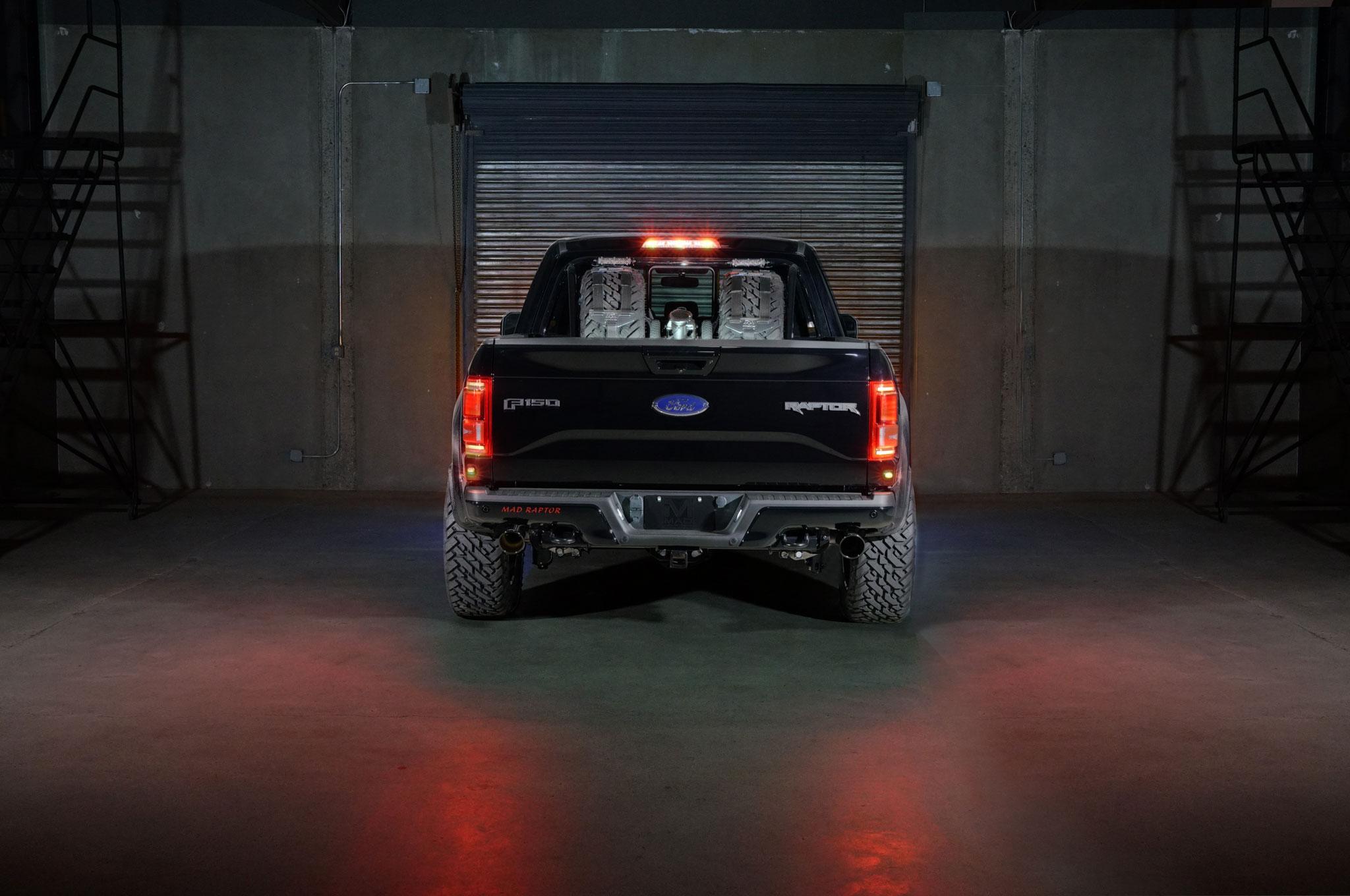 2018 Ford F 150 Raptor MAD Industries Black Rear