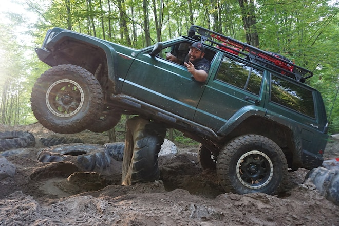 Whoops! Tired XJ