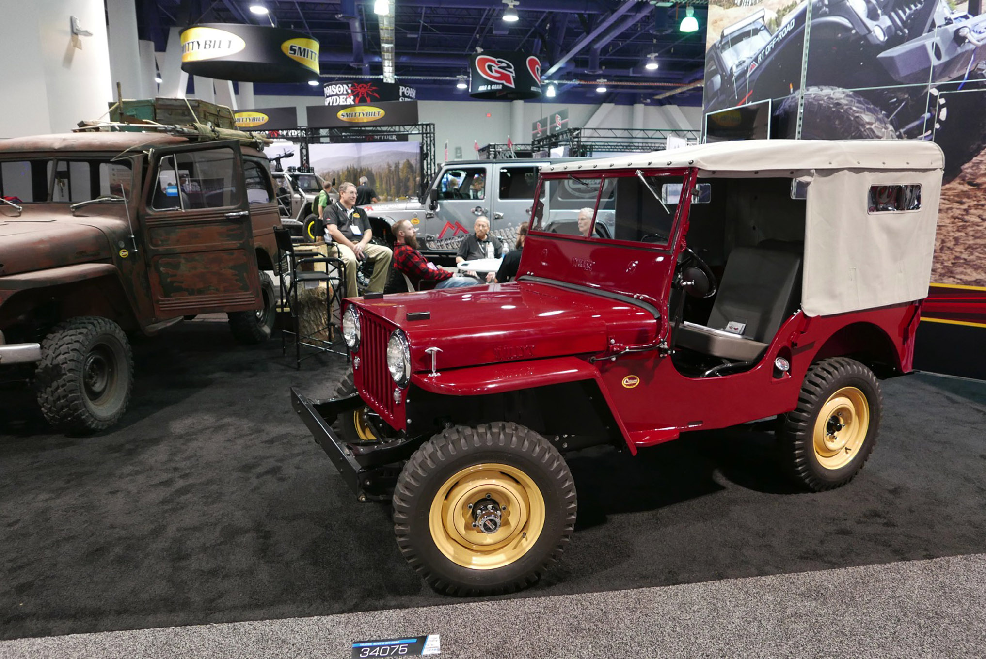 153 sema 2017 day 1 south upper hall gallery photos