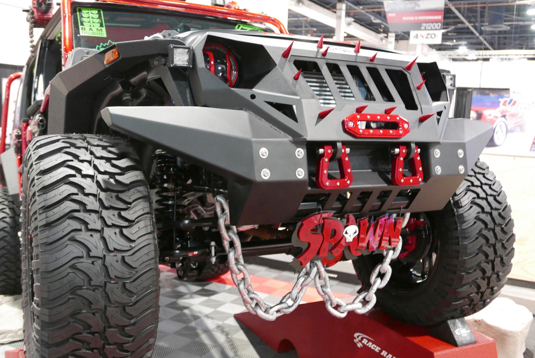 086 sema 2017 day 1 south upper hall gallery photos